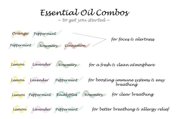 Essential oil pairings 2