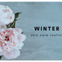 Weekly Winter Skincare Routine